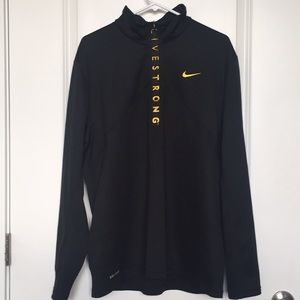 EUC | Nike | Livestrong 1/4 Zip | Men's XL